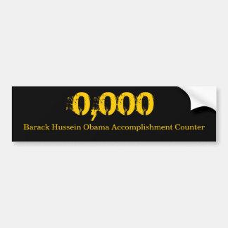 Accomplishment Counter Bumper Sticker