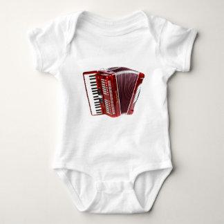 ACCORDIAN MUSICAL INSTRUMENT BABY BODYSUIT