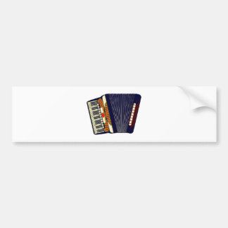Accordion accordion accordion bumper sticker
