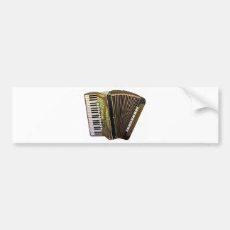 accordion all alone bumper sticker