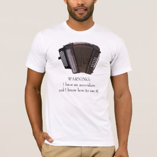 Accordion Caution T-Shirt