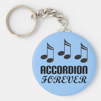 Accordion Forever Music Gift Key Ring