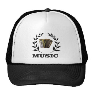 accordion music branch cap