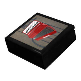 Accordion: The Red Accordion Gift Box