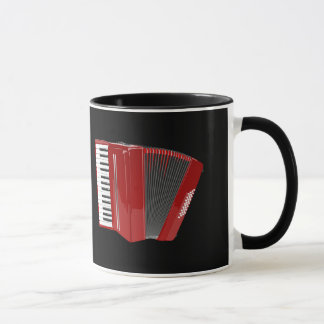 Accordion: The red accordion Mug