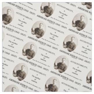 Accountability Ambrose Bierce Devil's Dictionary Fabric