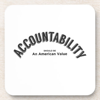 Accountability Should Be An American Value Coaster