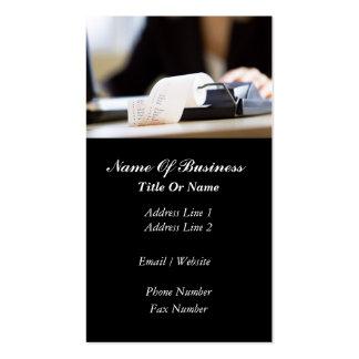 Accountant Business Card