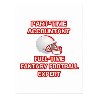 Accountant .. Fantasy Football Expert Postcard