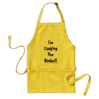 Accountant Gift - Auditor Present - Funny Quote Standard Apron