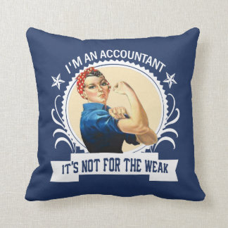Accountant - Not for the weak Cushion