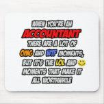 Accountant .. OMG WTF LOL Mousepad