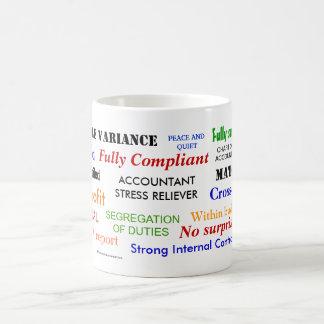 Accountant Stress Reliever!! Basic White Mug
