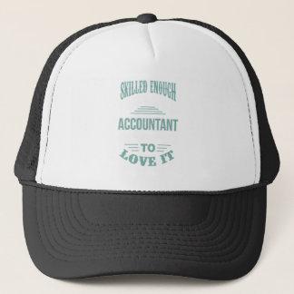 ACCOUNTANT TRUCKER HAT