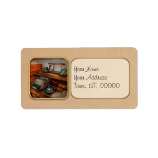 Accountant - Typewriter - The accountants office Address Label
