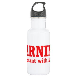 Accountant with Attitude 532 Ml Water Bottle