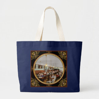 Accountant - Workaholic 1923 Large Tote Bag
