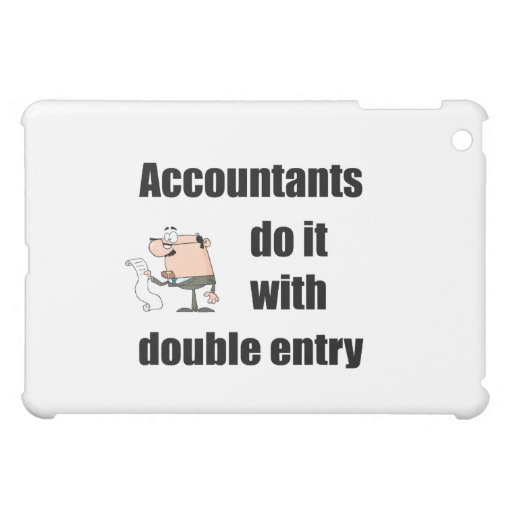 accountants do it with double entry case for the iPad mini