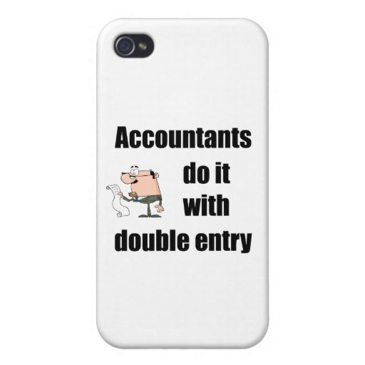 accountants do it with double entry covers for iPhone 4