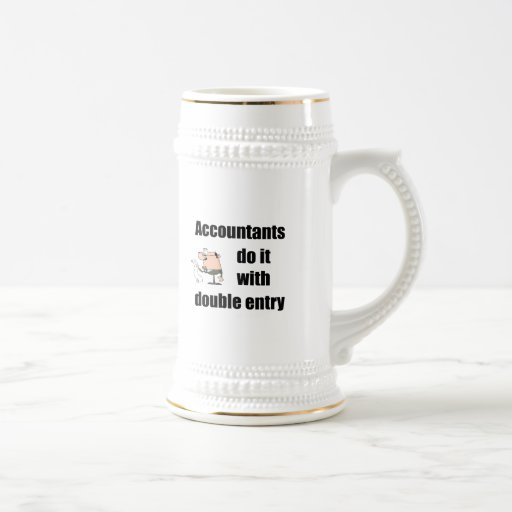 accountants do it with double entry mugs
