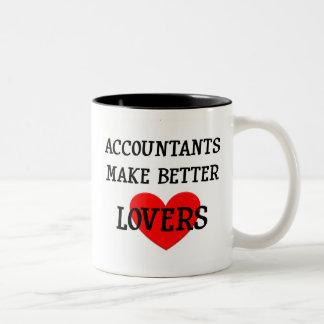 Accountants Make Better Lovers Two-Tone Coffee Mug