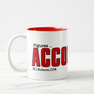Accountant's Mug | Funny Custom Play on Words Mug