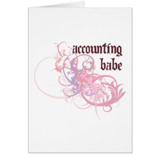 Accounting Babe Card