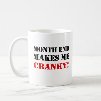 Accounting & Finance Month End Approval Stamp Coffee Mug