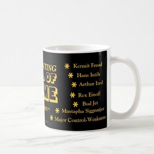 Accounting HALL OF FAME ! Mug