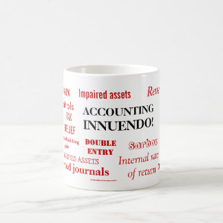Accounting Innuendo ! Coffee Mug
