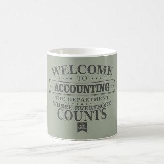 Accounting is where everybody counts! Mug