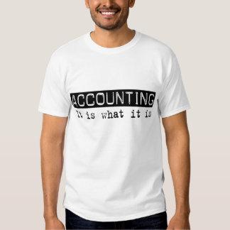 Accounting It Is Tshirt