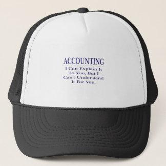 Accounting Joke .. Explain Not Understand Trucker Hat