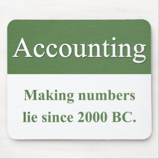 Accounting Mousepad