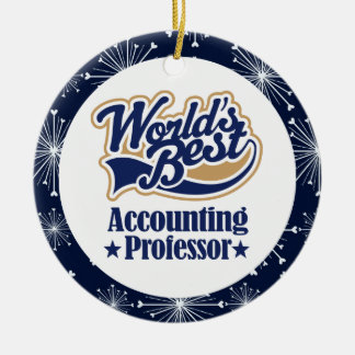 Accounting Professor Gift Ornament