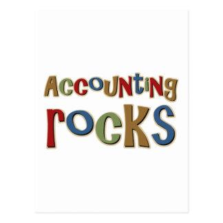 Accounting Rocks Postcard
