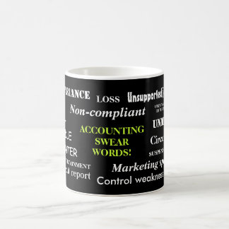 Accounting Swear Words!! Annoying But Funny Coffee Mug