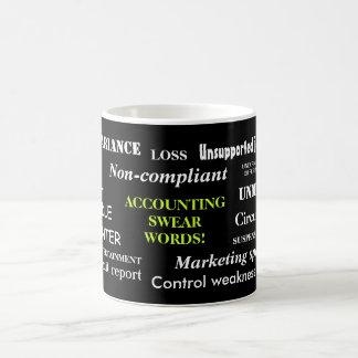 Accounting Swear Words!! Annoying But Funny Coffee Mug
