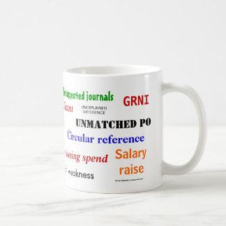 Accounting Swear Words!! Basic White Mug