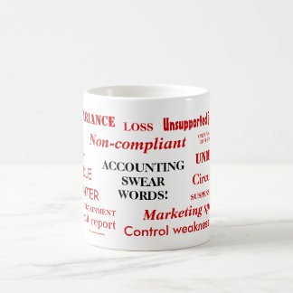 Accounting Swear Words! Coffee Mug