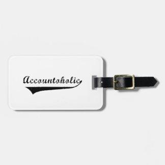 Accountoholic Bag Tag