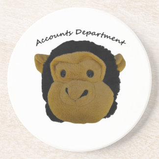 Accounts Department. Funny Gifts for  work persons Coaster