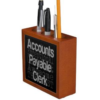 Accounts Payable Clerk Extraordinaire Desk Organiser