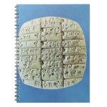 Accounts Table with cuneiform script, c.2400 BC (t Notebooks