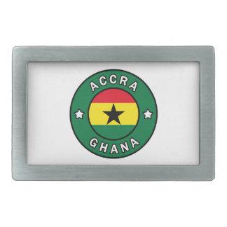 Accra Ghana Belt Buckle