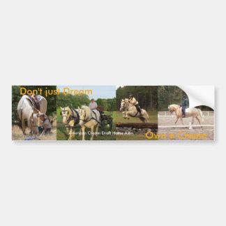 ACDHA Own a Cream Bumper Sticker