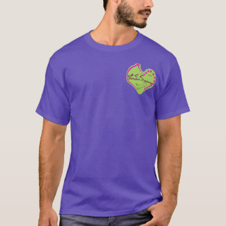 ACE Border Express - Winterberry pocket/back T-Shirt