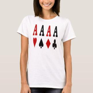 Ace Girl Poker Ladies Spaghetti Top