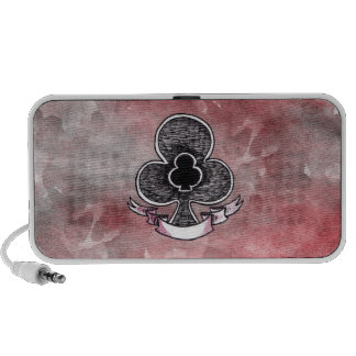 Ace of Clubs Laptop Speaker