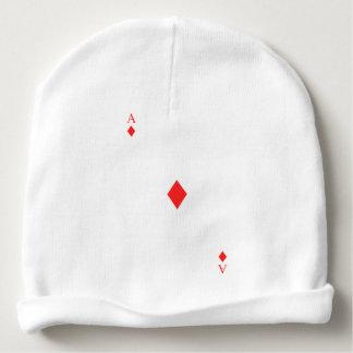 Ace of Diamonds Baby Beanie